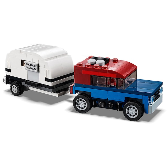 """LEGO® Konstruktionsspielsteine """"Transporter für Space Shuttle (31091), LEGO® Creator"""", Kunststoff, (341-tlg.)"""