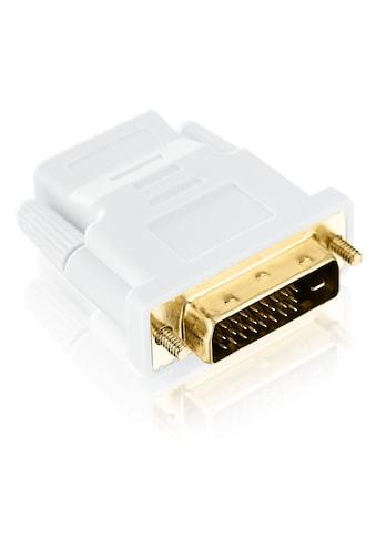 CSL Full HD HDMI auf DVI Video Adapter »HDMI-Buchse auf DVI-D Stecker (24+1 male)« kaufen
