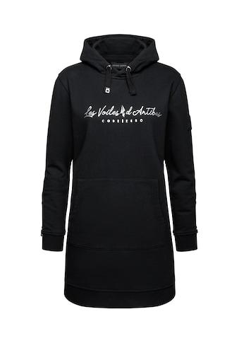 CODE-ZERO Sweatkleid »Sweatkleid Les Voiles Damen«, mit Label-Applikationen kaufen