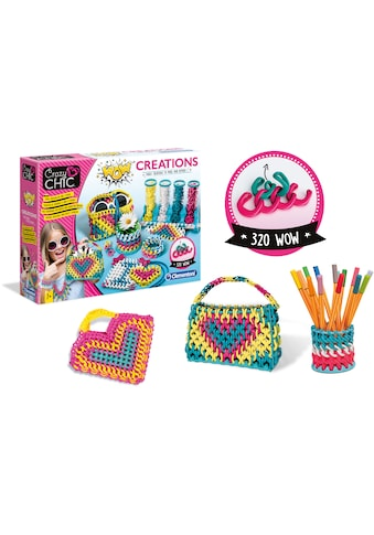 Clementoni® Kreativset »Crazy Chic - Wow-Kreationen«, Made in Europe kaufen