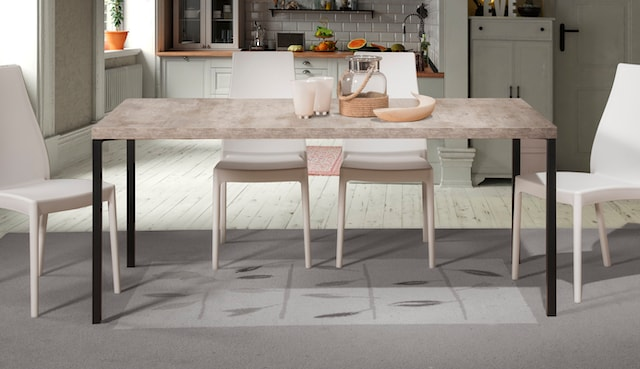nachhaltig produzierte Esstisch in italienischem Design