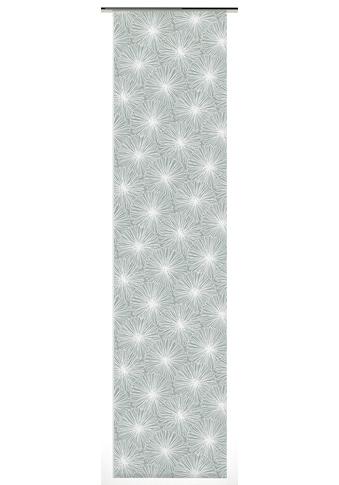 Schiebegardine, »Flächenvorhang Stoff Bloomy«, GARDINIA, Klettband 1 Stück kaufen