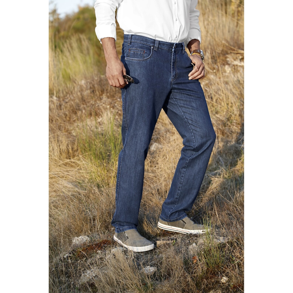 Jan Vanderstorm Comfort-fit-Jeans »STRYD«, elastisch mit Stretchbund
