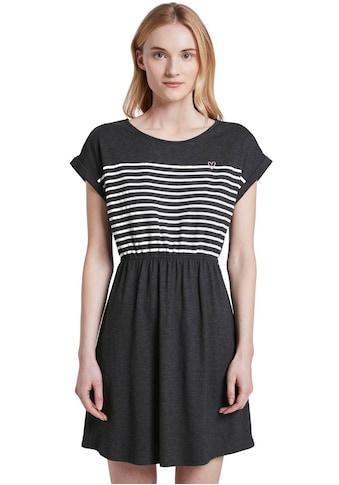 TOM TAILOR Denim Shirtkleid, mit Lace-Up-Details im Rückenausschnitt kaufen