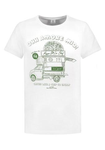 SUBLEVEL Rundhalsshirt, mit Print kaufen