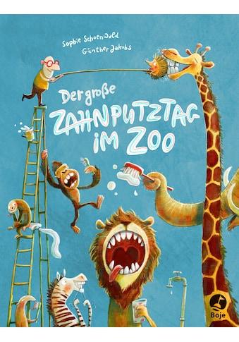Buch »Der große Zahnputztag im Zoo / Sophie Schoenwald, Günther Jakobs« kaufen