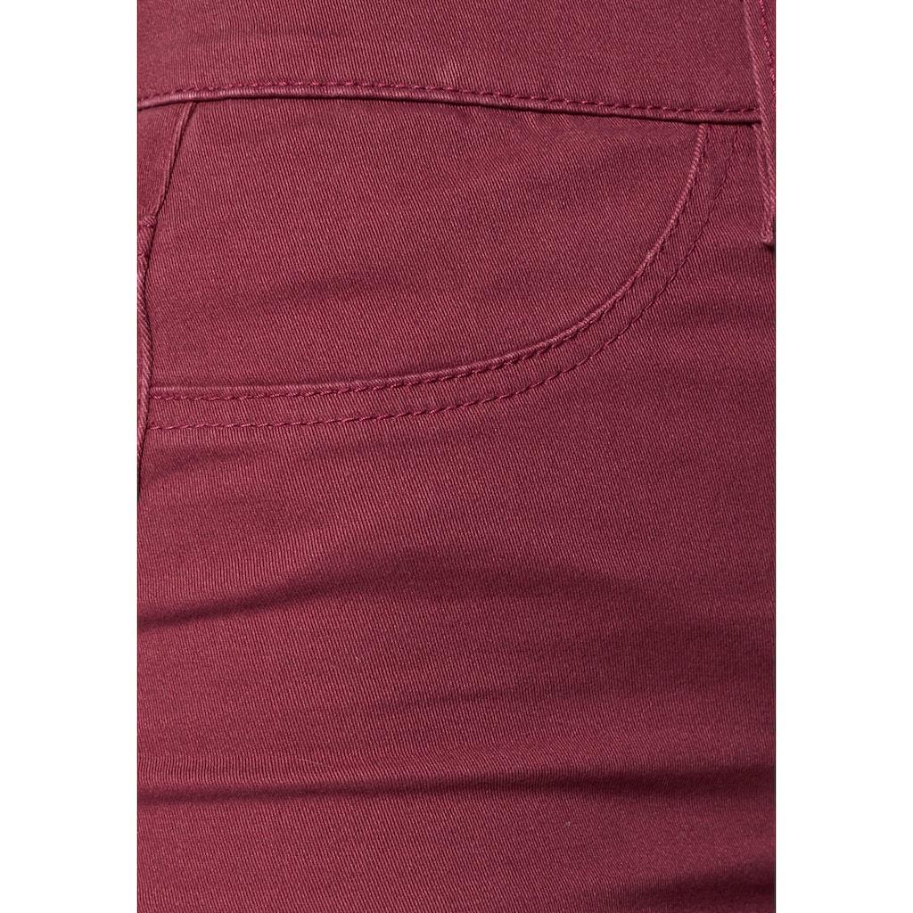 Arizona Jeansjeggings »in Coloured-Denim«, High Waist