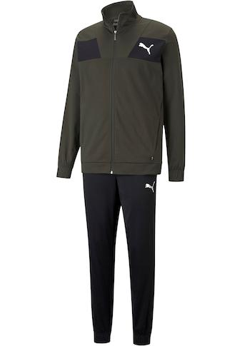 PUMA Trainingsanzug »Techstripe Tricot Suit cl« (Set, 2 tlg.) kaufen