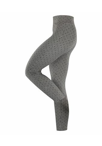 Esprit Feinstrumpfleggings »Hounstooth Dot«, (1 St.), ein breiter Komfortbund kaufen