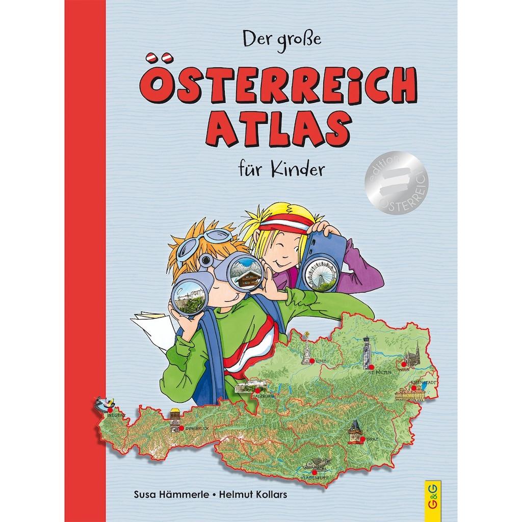 Buch »Der große Österreich-Atlas für Kinder / Susa Hämmerle, Helmut Kollars«