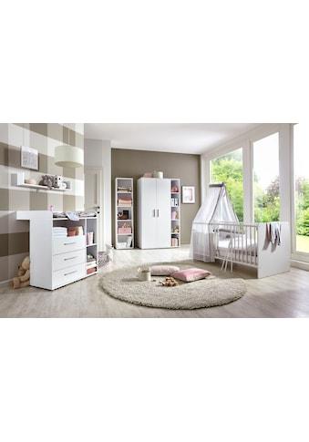 BMG Babyzimmer-Komplettset »Luis«, (Set, 5 St.), Bett + Wickelkommode + 2-trg. Schrank... kaufen