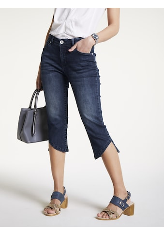 Capri - Jeans Aleria mit modischem Saum kaufen