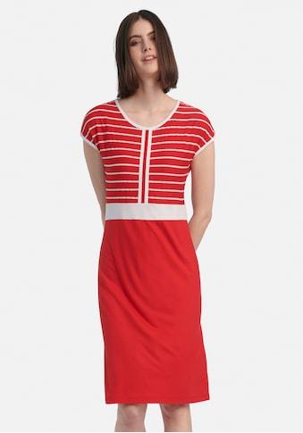 Peter Hahn Jerseykleid »Kleid mit überschnittener Schulter«, . kaufen