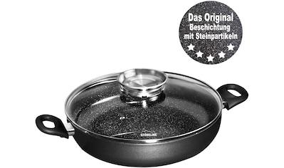 STONELINE Servierpfanne, Aluminium, (1 tlg.), Ø 24 cm, mit Aromaknopf im Deckel, Induktion kaufen