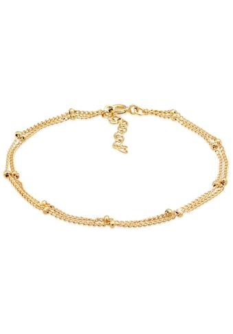 Elli Silberarmband »Layer Kugel Kettchen Basic Trend, 0212931219, 0212441219« kaufen