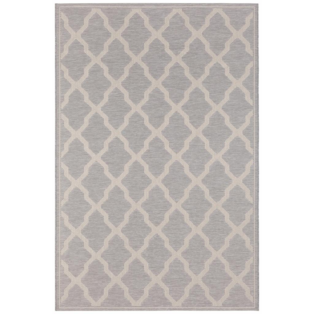 freundin Home Collection Teppich »Heaven«, rechteckig, 4 mm Höhe, Flachgewebe, In- und Outdoor geeignet
