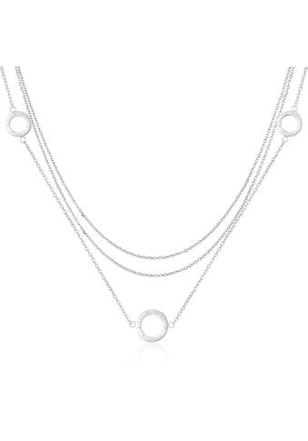 AILORIA Kette mit Anhänger »ANNABELLE Halskette Silber«, Hochglanz-Finish kaufen