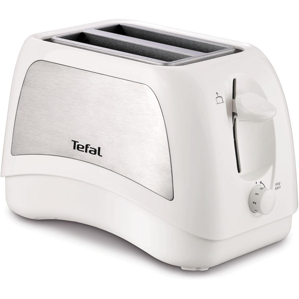 Tefal Toaster »TT131E Delfini Plus«, 2 kurze Schlitze, für 2 Scheiben, 850 W