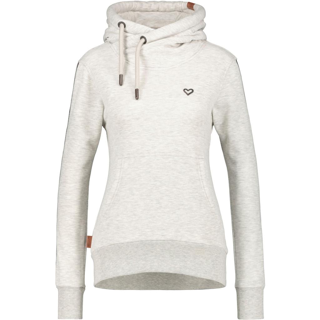 Alife & Kickin Sweatshirt »SarahAK«, Hoodie mit Streifen-Tape an den Ärmeln