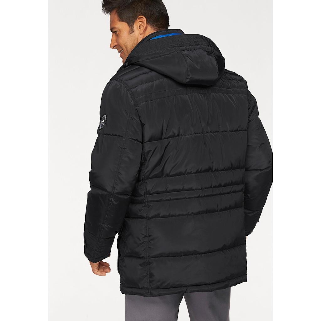 Man's World Winterjacke, mit abnehmbarer Kapuze