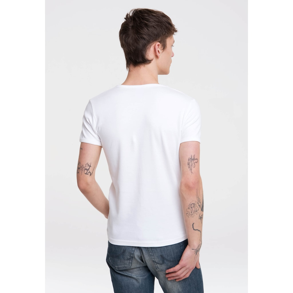 LOGOSHIRT T-Shirt »The Beatles«, mit legendärem Print