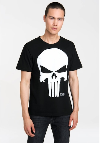 LOGOSHIRT T-Shirt mit coolem Schädel-Print kaufen
