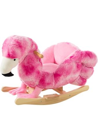 Heunec® Schaukeltier »Flamingo«, FSC®-Holz aus gewissenhaft bewirtschafteten Wäldern kaufen