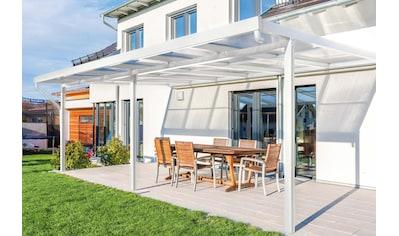 GUTTA Terrassendach »Premium«, BxT: 611x406 cm, Dach Polycarbonat klar kaufen