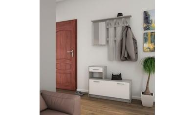 Homexperts Garderoben - Set »Tamme« (3 - tlg) kaufen