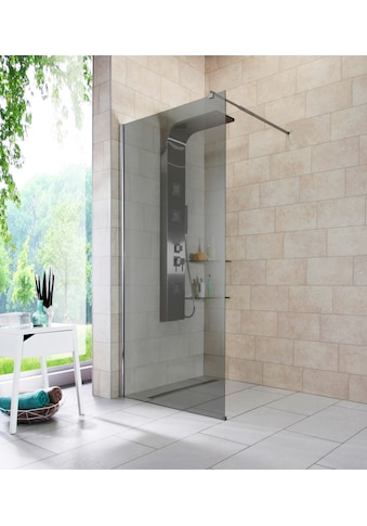 welltime Duschwand »Duschabtrennung«, Breite 90 cm, Grauglas kaufen