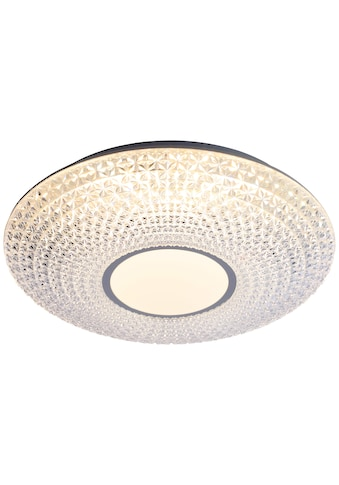 Brilliant Leuchten Benoit LED Deckenleuchte 42cm weiß/chrom kaufen