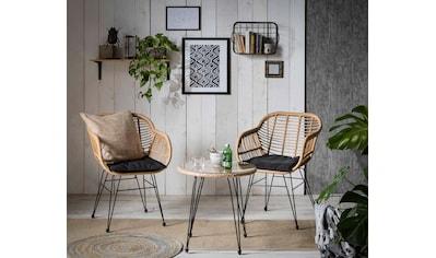 INOSIGN Sitzgruppe »Adiba«, für Indoor, Terrasse, Wintergarten oder Garten geeignet kaufen
