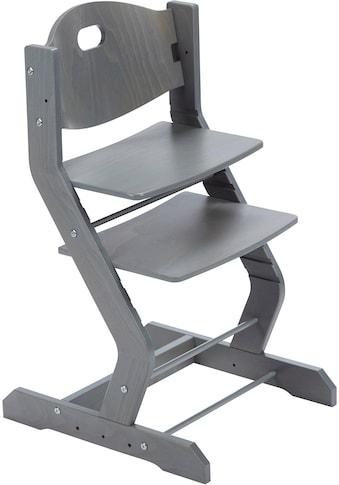 tiSsi® Hochstuhl »Grundgestell Buche Grau«, aus Holz; Made in Europe kaufen