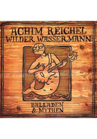Vinyl Wilder Wassermann - Balladen & Mythen (+Bonus LP) / Reichel,Achim, (2 LP (analog)) kaufen