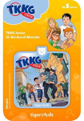 tigerbox Hörspiel, »TKKG Junior  -  Folge 6: Bei Anruf Abzocke« kaufen