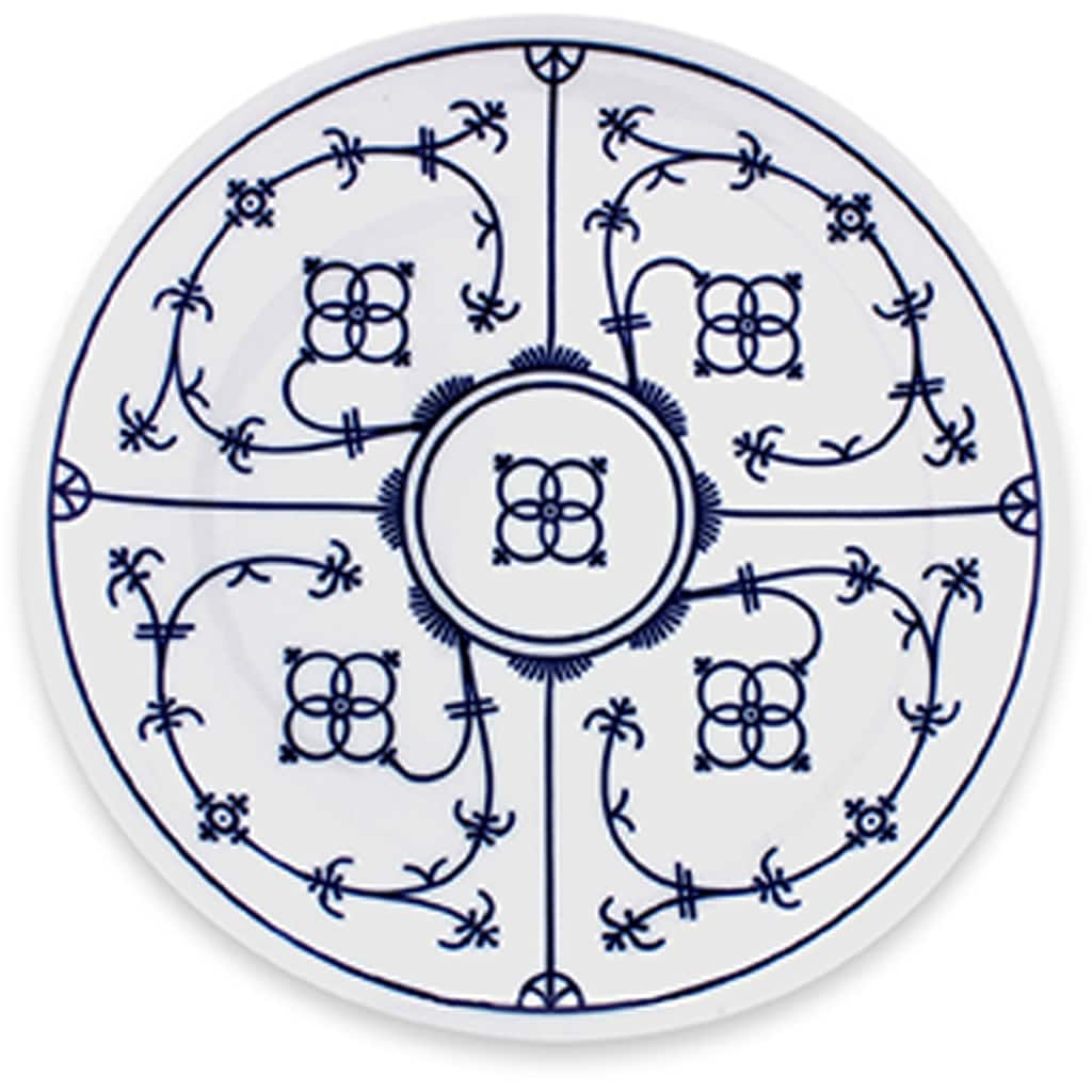 Eschenbach Tafelservice »Winterling - Indischblau«, (12 tlg.), Made in Germany