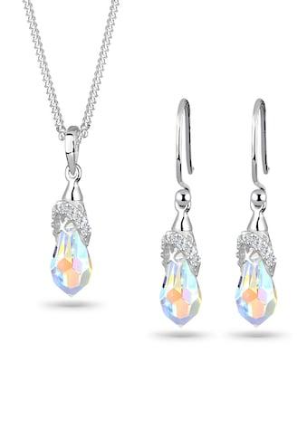 Elli Schmuckset »Kristalle 925 Sterling Silber« kaufen