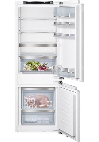 SIEMENS Einbaukühlgefrierkombination »KI77SADE0«, iQ500 kaufen