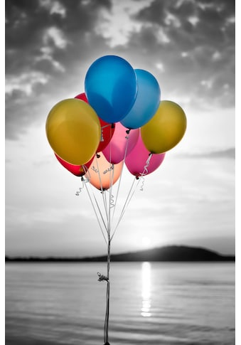 Home affaire Leinwandbild »Luftballons« kaufen