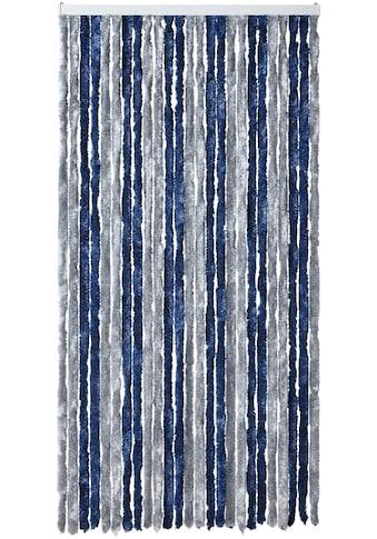 EXPLORER Insektenschutz-Vorhang, blau/silberfarben kaufen