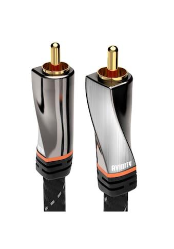AVINITY Digitales Cinch-Kabel, Gewebe, vergoldet, 1 m kaufen