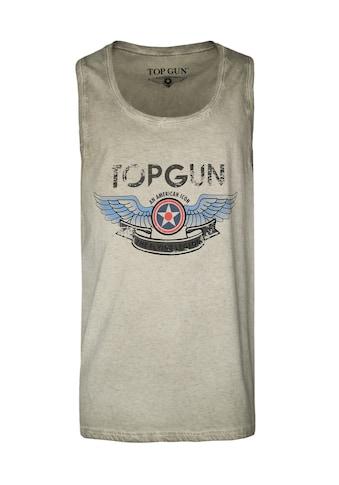 TOP GUN Muscleshirt »Flap«, sportlicher Schnitt kaufen