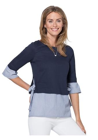 Ambria Longshirt aus reiner Baumwolle kaufen
