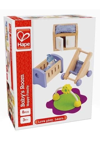 Hape Puppenhausmöbel »Babyzimmer«, (Set, 8 tlg.) kaufen