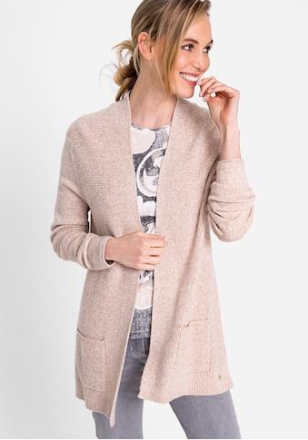 Olsen Cardigan, in melierter Optik kaufen