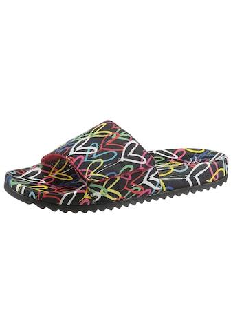 Skechers Pantolette »POP UPS 2-LOVE & SUMMER«, mit Allover-Print kaufen