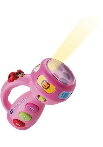 Vtech® Lernspielzeug, »Fröhliche Taschenlampe, pink« kaufen