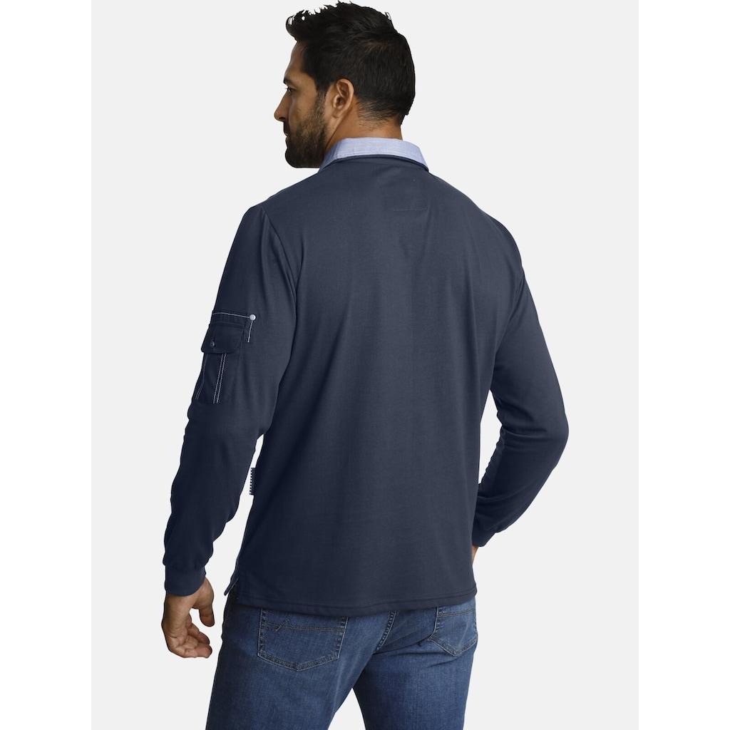 Jan Vanderstorm Sweatshirt »JELLE«, leichter Sweat, Comfort Fit