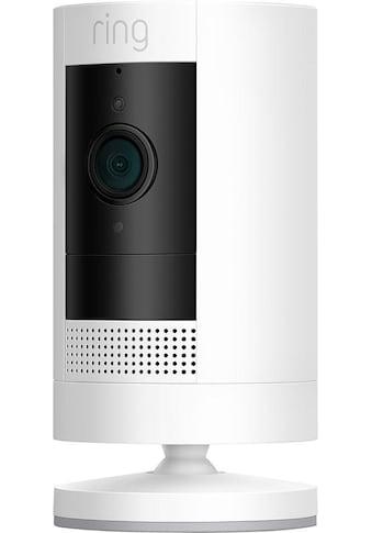 Ring Smart Home Kamera »Stick Up Cam Battery - White Gen 3«, Außenbereich-Innenbereich kaufen