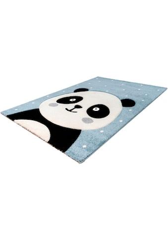 LALEE Kinderteppich »Amigo 322«, rechteckig, 15 mm Höhe, Panda Bär Motiv kaufen